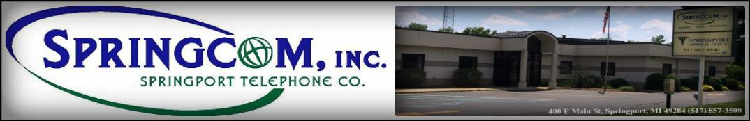 Springcom, Inc & Springport Telephone Co